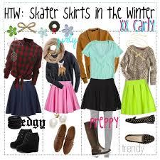 HTW Skater Skirts In The Winter
