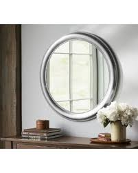 Don t Miss This Bargain Pottery Barn Silver Beaded Round Wall Mirror
