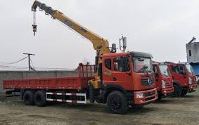China Dongfeng Chassis 18 Ton Boom Truck For Sale - China Hydraulic ...