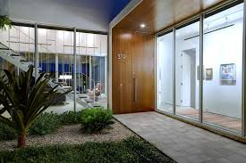 Modern House Fronts by 50 Modern Front Door Designs