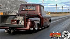 100 50s Chevy Truck Crazy Drag Run From The San Antonio Raceway This Racing
