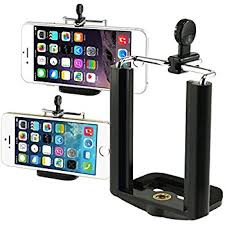 Insten Camera Stand Clip Bracket Holder Monopod Tripod Mount Adapter For Cell phone For iPhone 7 7 Plus 6S 6S Plus Galaxy S7 Edge S7 S8 S8 S8 Plus