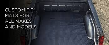 Tacoma Bed Mat by Black Armour Truck Bed Mats