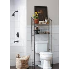 Bathroom Etagere Over Toilet Chrome by Target Home Oil Rubbed Metal Over Toilet Space Saver étagère