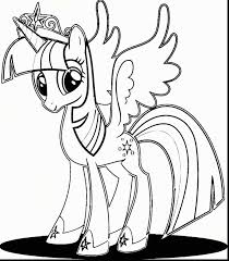 My Little Pony Princess Twilight Sparkle Coloring Pages Printable Erfreut Mein Kleines Malvorlagen