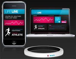 LifeLine is a modular bracelet shaped health tracking system that can monitor heart rate temperature blood sugar levels and wirelessly synchronize and