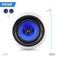 Polk Audio Ceiling Speakers Rc60i by Amazon Com Pyle Home Pic6e 250 Watt 6 5 Inch Two Way In Ceiling
