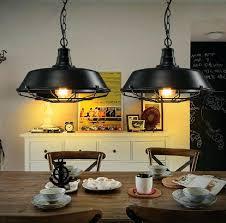 Industrial Dining Room Lighting Style Retro Loft Water Pipe Lamp