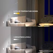 3 farbtemperaturen 10w lesen standleuchte flexibler