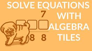 齦窶 盒 窶 齡 solve equations with algebra tiles easily factor