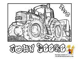 Beau Dessin à Colorier Tracteur Avec Remorque Mademoiselleosakicom