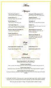 holland america statendam menu main dining room picture menus on