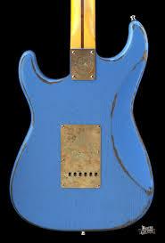 Paoletti Loft Series Stratospheric HSS Strat Relic Blue