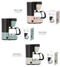 4 Cup Coffee Maker White Toffee Mr Switch