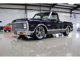 100 Custom C10 Trucks 1972 Chevrolet Pickup For Sale ClassicCarscom CC966805