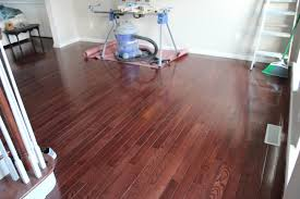 Steam Cleaning Old Wood Floors by Our Home From Scratch