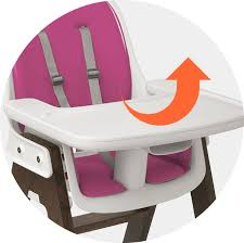 Oxo Seedling High Chair Manual by Oxo Tot Sprout High Chair Gray Black