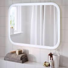 beleuchteter spiegel storjorm ikea living at home