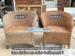 chaises en osier comment nettoyer et entretenir une chaise en osier facilement