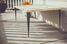 Metal Table Legs Diy Tables Tips On Caring For Wrought Iron