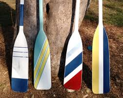 Decorative Oars And Paddles by Painted Oar Etsy