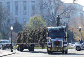 100 Metropolitan Trucking Inc Delivers On Capitol Christmas Trees Journey Again As