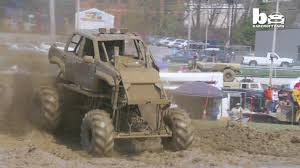 100 Monster Mud Truck Videos Sweat And Gears Drivers Hit The Dirt Track