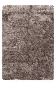 braun floori shaggy hochflor teppich 100x150cm moderner