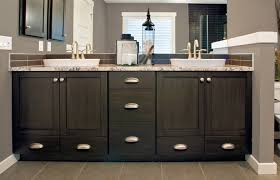 dark and contemporary custom cabinets