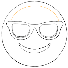Devil Emoji Pumpkin Carving by Finished Black And White Drawing Of The Sun Glasses Emoji Face