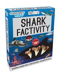 discovery kids shark factivity kit parragon books ltd