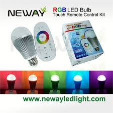 wifi 2 4g 6w touch remote color adjustable led bulb kits