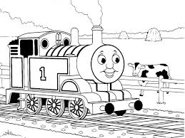 Thomas The Train Coloring Pages Online 1