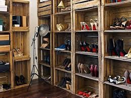 Best Pallet Crate Shoe Racks Design Ideas