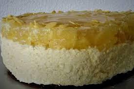 kleine ananas sahne torte ohne backen