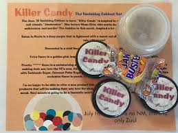 geekshines notoriously morbid vanishing cabinet killer candy