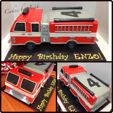 Firetruck Cake At 18