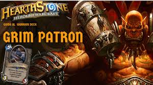 Warrior Hearthstone Deck Grim Patron by Hearthstone Ita Guida Al Grim Patron Youtube