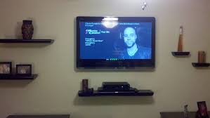 Wall Shelves Design Awesome Wall Mounted Shelves For Tv