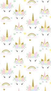Unicorns And Rainbows IPhone Wallpaper