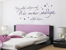 wandtattoo wandsticker schlafzimmer sprüche wer schläft
