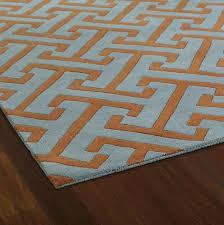 Inspirational 14 orange and Teal area Rug Models