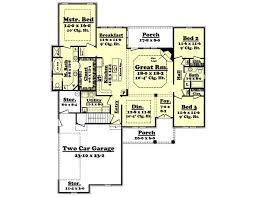 Photo Of Floor Plan For 2000 Sq Ft House Ideas by House Plan 142 1091 3 Bdrm 2 000 Sq Ft Acadian Home