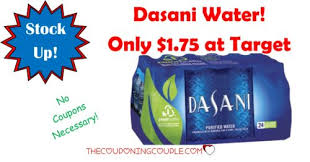 CHEAP Dasani Water Deal Target Only 175 Case