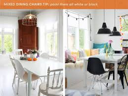 10 Style Tips For Pulling Off A Mix & Match Dining Set ...