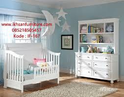 Munire Dresser With Hutch by Jual Tempat Tidur Bayi Kayu Minimalis Modern Tempat Tidur Bayi