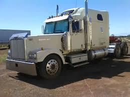 100 Wood Trucks 2006 Western Star Sleeper Semi Truck 515 Detroit Real Heavy