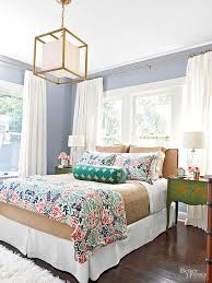 Guest Bedroom I Dont Care For The Colors They Choose But Like