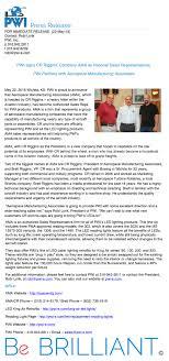 100 Ama Associates PWI Signs CR Riggins Company AMA As National Sales Representatives