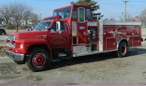 1988 Ford F800 Pumper Fire Truck | Item D6085 | SOLD! Februa...